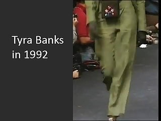 Bank bikini tyra - Tyra banks - 19 yo with visible tits in 1992