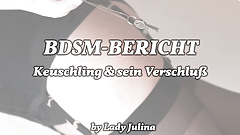 BDSM report: Experiences of the chastity belt wearer (1)