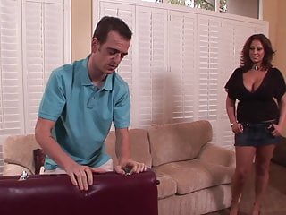 Massive tits and anul fucking Horny milf with massive tits fucked