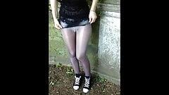 Pantyhose Flashing