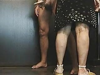 Ballbusting ball sex Slapping cock, ball busting and cumshot - ballbusting10 by u