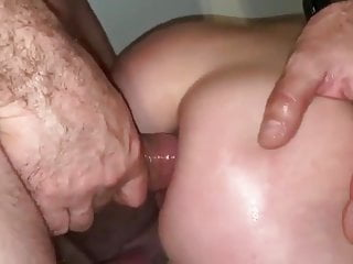 French hot ass French hot wife with great ass taking a big dick in her ass.