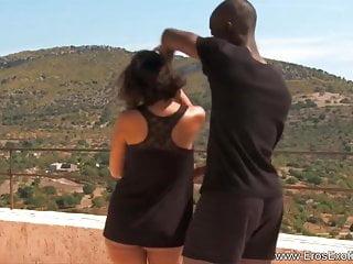 Romantic porn scenes - African romantic sex scene
