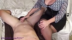 BOY GETS MILKED BY MOMMY
