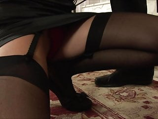 Cum miniskirt panties stockings gallery - Imageset black stockings secretary luna gold fucking gallery