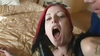 British she likes hard anal