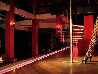 Stripper girls video Fishnet stripper