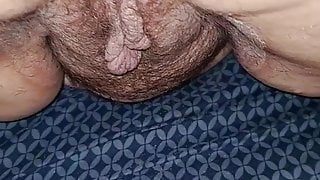 Creampie in her used cunt