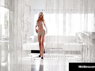 Daily star angeline strips Canadian star nikki benz strips teases plays w our minds