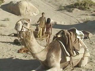 Kaylani 2 cocks Fuck with kaylani in the desert