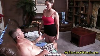 Daddy-Daughter Get Busted, Caught in the Act by StepMom
