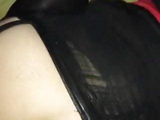 Tranny dog style - Tranny ass