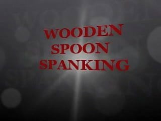 Direct porn tube japanese spanking wooden Wooden spoon spanking
