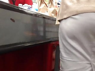 Look for registered sex offenders Upskirt at the register...