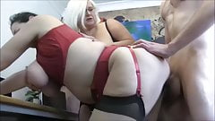 Hot horny mature women and one lucky guy