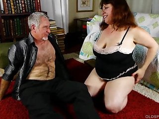Chubby old movies - Super cute chubby old spunker is such a hot fuck