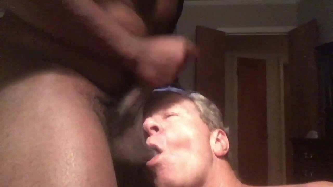 Ebony Titty Fuck Facial