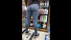 PAWG Liquor Store Employee Perfect Bubble Butt