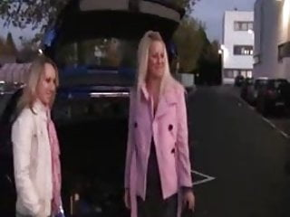Soriority girls fucked Two german girls fucked on car parking