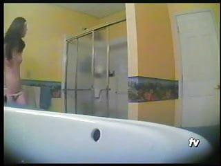 Mcmahon nude steph Steph hidden shower