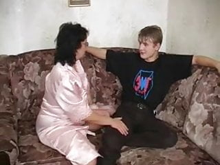 Mother blowjob son - Cute son with not his mother