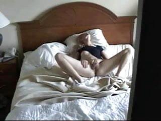 Granny masturbation caught on hidden cam Caught on hidden cam