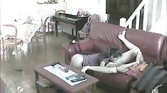 Hidden camera. Spying on lesbians