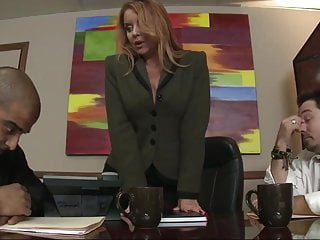 Milf cruiser mason invited Milf boss janet mason fucked hard by a big black office dick