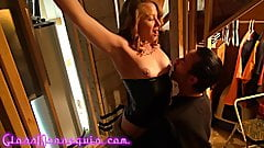 Hot Blonde MILF Tied And Fucked By Her Master