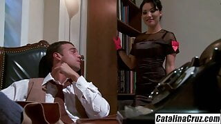 Licensed To Blow - Asa Akira seduces her boss cheating on hu