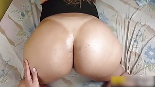 POV Fucking, Waking Up A Milf with a Big Ass