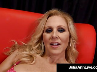 Mature adult love making Lusty love making queen julia ann strokes sucks your cock