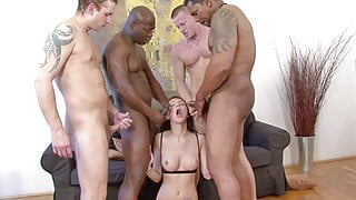 Gangbang for Glory In Both Holes