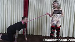 Locked tightly for Mistress Joslyn James