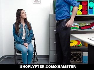 Shoplifter porn Shoplyfter - sexy shoplifter teen fucks her way out of being