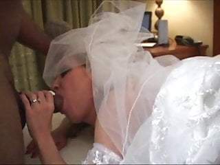 Bride dressed and nude - My breeding bride -part 2 used in her veil dress preview