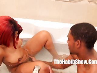 Big ghetto booty getting sexy - Sexy phat booty thickred getting fucked by bbc stretch