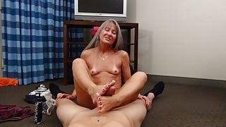Leilani Lei Gives Jason a Foot Job