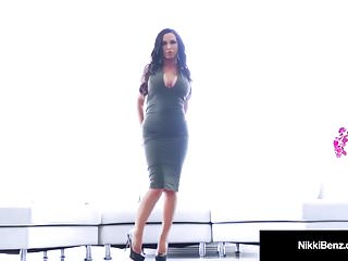 Nikki benz lesbian in chains - Penthouse pet nikki benz loves phoenix marie her tongue