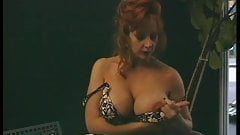 fake tits, redheads audition.