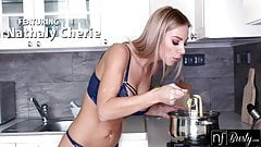 Massive Tits Blonde Serves Pasta And Pussy For Supper S11:E1
