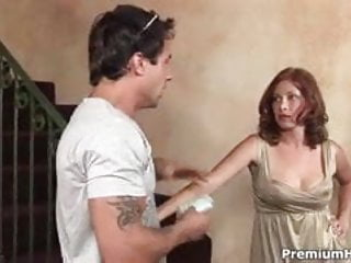 Pussy with rings all over Ginger lea jizzed all over