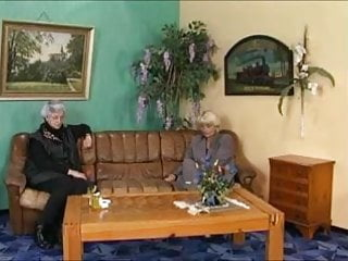 Bear gay grey haired man older Grey-haired granny in a gangbang
