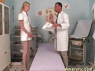 Small font latex - Role play 12: the skinny nurse