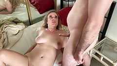 Stepmom has sex with stepson to get him ready for college