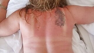 Fucking my blond wife, holiday in Crete Hotel, orgasm