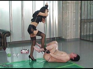 Femdom cbt stories Japanese femdom cbt tease and cock punishment