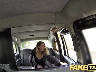 Hot fake milfs - Fake taxi hot babe in heels with big natural tits