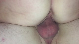 Mature getting fucked close up