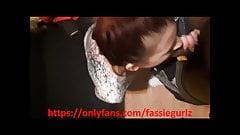 Biker Bratt Britt gives Demirxxx head while her bf is n othe